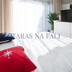 Апартаменты Taras Na Fali Apartments Сопот комната для гостей фото 3