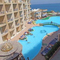 Отель Sphinx Aqua Park Beach Resort бассейн фото 2