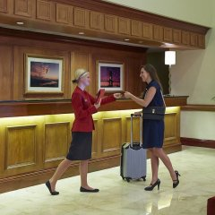 Отель Columbus Airport Marriott США, Колумбус - отзывы, цены и фото номеров - забронировать отель Columbus Airport Marriott онлайн интерьер отеля фото 2