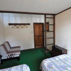 Отель Guest House Wind Inn Hakuba Хакуба сейф в номере