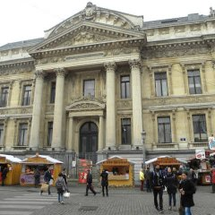 Отель City Center Apartments Bourse Бельгия, Брюссель - отзывы, цены и фото номеров - забронировать отель City Center Apartments Bourse онлайн городской автобус