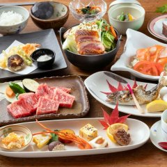 Отель Ryokan Hanagokoro Минамиогуни питание фото 3