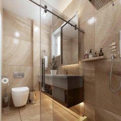 Отель Pefki Deluxe Residences Греция, Пефкохори - отзывы, цены и фото номеров - забронировать отель Pefki Deluxe Residences онлайн ванная
