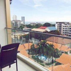 Отель C-View Residence Паттайя балкон