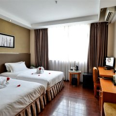 Отель Dunhe Apartment Китай, Гуанчжоу - отзывы, цены и фото номеров - забронировать отель Dunhe Apartment онлайн комната для гостей фото 2