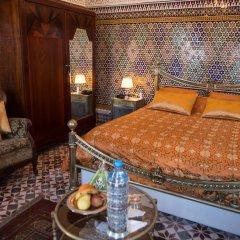 Отель Dar El Kebira Salam Марокко, Рабат - отзывы, цены и фото номеров - забронировать отель Dar El Kebira Salam онлайн комната для гостей фото 5