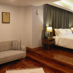 Отель Maneeya Park Residence Бангкок комната для гостей фото 4