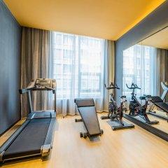 Отель Atour Hotel (Beijing Financial Street) Китай, Пекин - отзывы, цены и фото номеров - забронировать отель Atour Hotel (Beijing Financial Street) онлайн фитнесс-зал фото 4