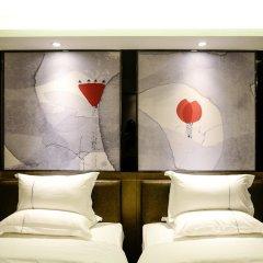 Отель Dunhe Apartment Китай, Гуанчжоу - отзывы, цены и фото номеров - забронировать отель Dunhe Apartment онлайн комната для гостей фото 5