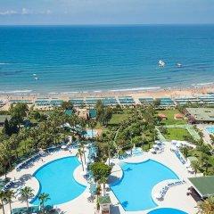 Iz Flower Side Beach Hotel All Inclusive Турция, Сиде - отзывы, цены и фото номеров - забронировать отель Iz Flower Side Beach Hotel All Inclusive онлайн пляж