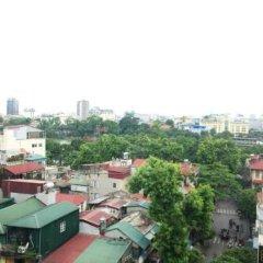 Отель Asia House Hotel Вьетнам, Ханой - отзывы, цены и фото номеров - забронировать отель Asia House Hotel онлайн балкон