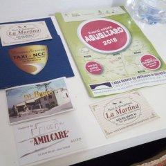 Отель B&B La Martina Италия, Лимена - отзывы, цены и фото номеров - забронировать отель B&B La Martina онлайн интерьер отеля фото 2