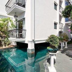 Отель Riverside Impression Homestay Villa бассейн