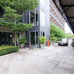 Отель Ploen Pattaya Residence парковка