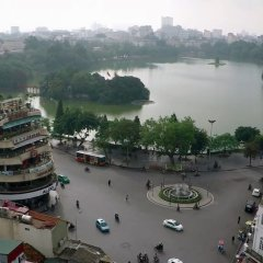 My Hotel Universal Hanoi Ханой приотельная территория фото 2
