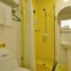Отель Home Inn Bird's Nest Китай, Пекин - отзывы, цены и фото номеров - забронировать отель Home Inn Bird's Nest онлайн ванная