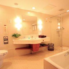 Отель Central Hotel Jingmin Китай, Сямынь - отзывы, цены и фото номеров - забронировать отель Central Hotel Jingmin онлайн ванная фото 2
