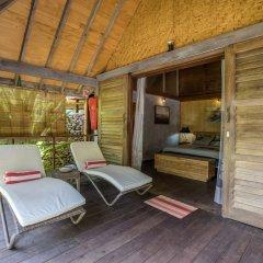 Отель Green Lodge Moorea Французская Полинезия, Папеэте - отзывы, цены и фото номеров - забронировать отель Green Lodge Moorea онлайн балкон