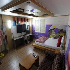 Отель Two Heart Hotel Южная Корея, Тэгу - отзывы, цены и фото номеров - забронировать отель Two Heart Hotel онлайн комната для гостей фото 4