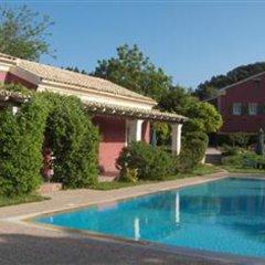 Отель Villa De Loulia Греция, Корфу - отзывы, цены и фото номеров - забронировать отель Villa De Loulia онлайн бассейн