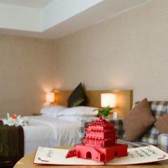 Отель SKYTEL Сиань в номере фото 2