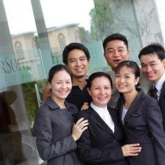 Отель Fraser Suites Hanoi городской автобус