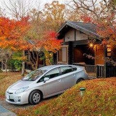 Отель Ryokan Hanagokoro Минамиогуни парковка