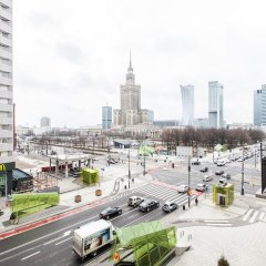 Отель Apartment4you Centrum 2 Варшава балкон