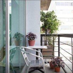 Отель Trendy Suite With Terrace in Polanco Мехико балкон