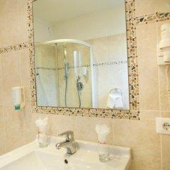 Отель Albergo al Cervo - Gasthof zum Hirschen Лагундо ванная