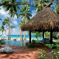 Отель Laucala Island пляж фото 2