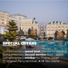 Отель Vinpearl Resort & Spa Ha Long городской автобус