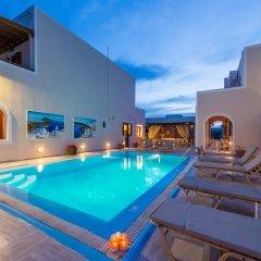 Отель Villa Voula Греция, Остров Санторини - отзывы, цены и фото номеров - забронировать отель Villa Voula онлайн бассейн фото 3