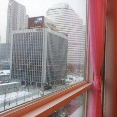 Отель Cozy Seoul Yongsan Южная Корея, Сеул - отзывы, цены и фото номеров - забронировать отель Cozy Seoul Yongsan онлайн балкон
