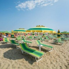Hotel Villa Franco Римини пляж