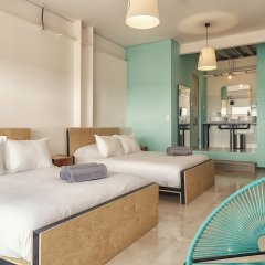 Отель Mayan Monkey Los Cabos - Hostel - Adults Only Мексика, Золотая зона Марина - отзывы, цены и фото номеров - забронировать отель Mayan Monkey Los Cabos - Hostel - Adults Only онлайн комната для гостей фото 4
