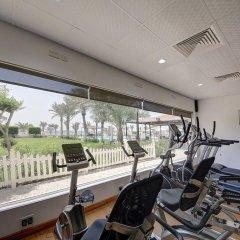 Отель Ajman Beach Аджман фитнесс-зал фото 3