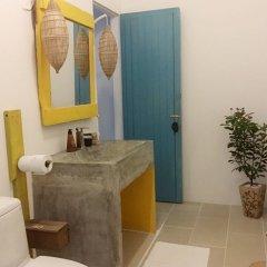 Отель An Bang Sunrise Beach Bungalow ванная