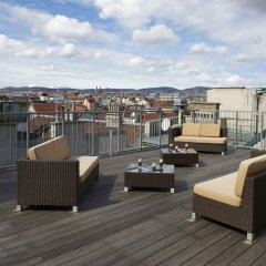 Отель MyPlace Premium Apartments Riverside Австрия, Вена - отзывы, цены и фото номеров - забронировать отель MyPlace Premium Apartments Riverside онлайн приотельная территория