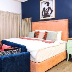 Апартаменты One Perfect Stay Studio Burj Al Nujoom комната для гостей