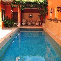 Отель La Casa De Los Arcos Сан-Педро-Сула бассейн