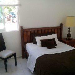 Отель Hostel Punta Sam Мексика, Плайя-Мухерес - отзывы, цены и фото номеров - забронировать отель Hostel Punta Sam онлайн комната для гостей фото 4