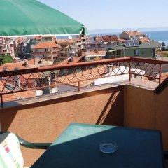 Отель Guest House Geri Болгария, Поморие - отзывы, цены и фото номеров - забронировать отель Guest House Geri онлайн балкон