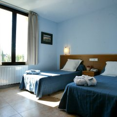 Отель Comtes de Queralt Испания, Санта-Колома-де-Керальт - отзывы, цены и фото номеров - забронировать отель Comtes de Queralt онлайн комната для гостей фото 3