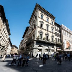 Отель Palazzo Gamba Флоренция вид на фасад