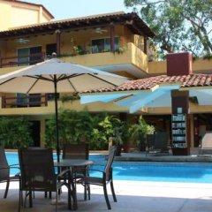 Отель Los Mangos Мексика, Сиуатанехо - отзывы, цены и фото номеров - забронировать отель Los Mangos онлайн бассейн фото 7