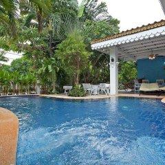 Отель Jomtien Paradise Villa бассейн