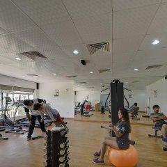 Отель Ajman Beach Аджман фитнесс-зал фото 2