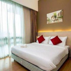Отель Queens Service Suite at Swiss Garden residence Малайзия, Куала-Лумпур - отзывы, цены и фото номеров - забронировать отель Queens Service Suite at Swiss Garden residence онлайн комната для гостей
