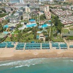 Iz Flower Side Beach Hotel All Inclusive Турция, Сиде - отзывы, цены и фото номеров - забронировать отель Iz Flower Side Beach Hotel All Inclusive онлайн пляж фото 2